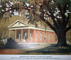 Old painting sheds light on Sheldon Church's original look
