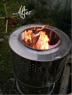 Instructables: perhaps my new favorite website. Want to make your own stainless steel re-cycled/ upcycled garden fireplace incinerator from a wash machine or dryer? Head over to the very do-able in...