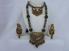 Navratri hand crafted antique Golden Oxidized finish by mfussion, $16.00