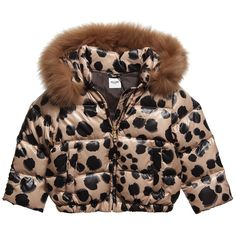 Moschino Baby Leopard Print Jacket