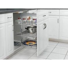 Premiere 14-3/4 in. Width Short Pull-Out Pantry-5225-14 CR at The Home Depot