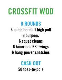crossfit workout (WOD) #crossfit