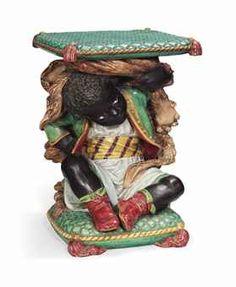 french sarreguemines majolica 39 monkey 39 candle holder antique majolica pottery pinterest. Black Bedroom Furniture Sets. Home Design Ideas