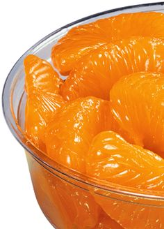 Mandarin Oranges, great finger food for a snack throughout the day, yummy.  I'm eating them right now.