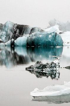 Jökulsarlon, Iceland by Sina Blanke