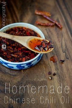 Homemade Chinese Chili Oil