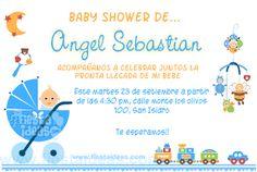 Resultado de imagen para diseño de tarjetas de invitacion para baby shower