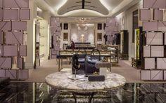 Alexander McQueen Miami   Luxury Fashion Store Design
