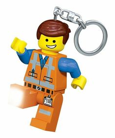 LEGO 850896 The LEGO Movie BAD COP GOOD COP Minifigure Keychain new with tag