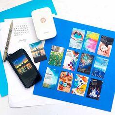 Custom Calendar, Diy Calendar, Scrapbook Albums, Scrapbooking Layouts, Hp Sprocket Photo Printer, Instant Print Camera, Paper Crafts Origami, Hp Printer, Mini Photo