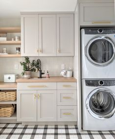 Laundry In Kitchen, Mudroom Laundry Room, Modern Laundry Rooms, Laundry Room Layouts, Laundry Room Remodel, Laundry Room Cabinets, Laundry In Bathroom, Laundry Room Organization, Landry Room
