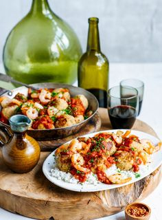 Chicken and seafood paella recipe seafood paella and food network the great thing about this recipe is you can crank the heat up or down to forumfinder Images