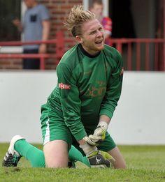 First Notts County Goal by Izale McLeod, Ilkeston vs Notts County Copyright B&O Press Photo.