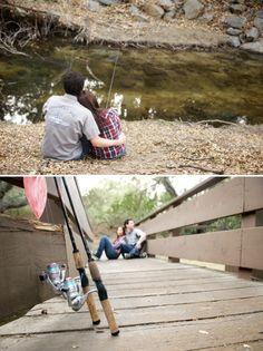 fishing engagement photos