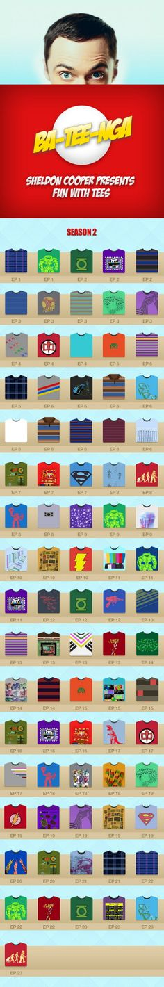 Las playeras de Sheldon T.2