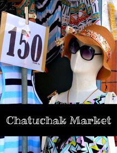 Chatuchak Market (Bangkok) – the world's largest weekend market #thailand #bangkok #chatuchak #shopping