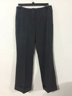 The Limited Women's Cassidy Fit Stretchy Gray Pants Size 12 Inseam 31 #TheLimited #Cassidy
