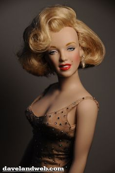 Marilyn Monroe doll - Happy Birthday, Mr. President