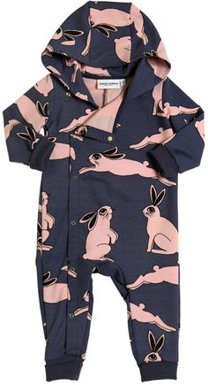 Rabbit Organic Cotton Fleece Romper