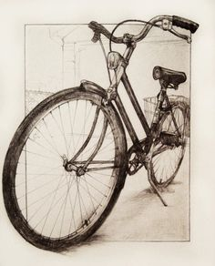 Audrey Benjaminsen #bike #illustration