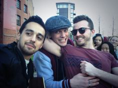 these 3.   Jamie Campbell Bower, Dan Smith, Tristan Marmont - The Darling Buds 15/3/14