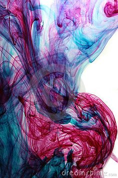 Abstract ink in water by Tomislav Ladišić, via Dreamstime