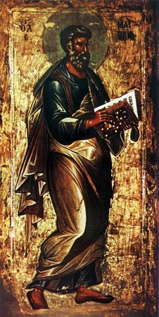 Saint Matthew / Апостол и евангелист Матфей #Orthodox #Christian #icon