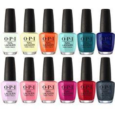 Opi lacquer summer 2018 grease collection set of polish-universal nail supplies Opi Gel Polish, Opi Nails, Nail Polish Colors, Nail Nail, Wholesale Nail Supplies, Nail Lacquer, Diy Nail Designs, Rainbow Nails, Nail Supply