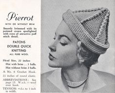 Patons Knitting and Crochet book no 421 ca. 1940s Australia.  This 20 page booklet has patterns for 12 knitted/crochet stylish ladies