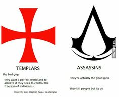 Assassin's creed explained Templars are my brothers Assassins Creed Logo, Assassins Creed Odyssey, Assasins Cred, Assassin's Creed Hidden Blade, Assassian Creed, Assassin's Creed Wallpaper, Memes Estúpidos, Templer, Hilarious Pictures