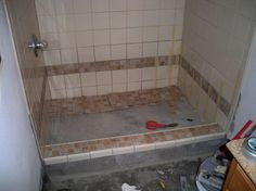 Manufactured Housing Remodels | Mobile Home Bath Remodel, Bathroom Nr2,  Installing Tile, Bathrooms .