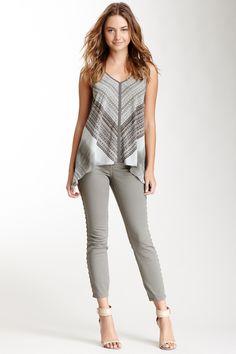 DKNY Jeans City Studded Skinny Jean