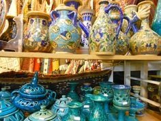 Handcrafts shop- Tajrish Bazar. Tehran.