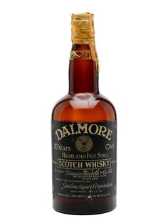 Dalmore 20 Year Old - Bot.1930s Scotch Whisky : The Whisky Exchange