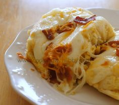 Cheesy Breakfast Pull-Aparts: From Cooking With Libby