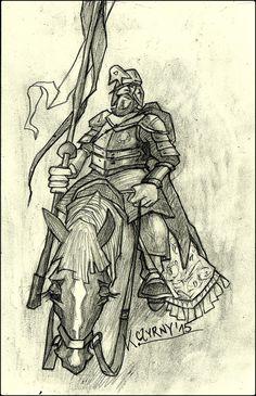 K. Czyrny. Sketch