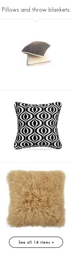 """Pillows and throw blankets."" by lavanda79-1 ❤ liked on Polyvore featuring home, home decor, throw pillows, jonathan adler, jonathan adler throw pillows, handmade home decor, needlepoint throw pillows, embroidered throw pillows, pillows and plush throw pillows"