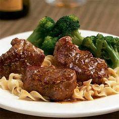 20-Minute Pork Tenderloin with Dijon Mustard Sauce Recipe - Key Ingredient
