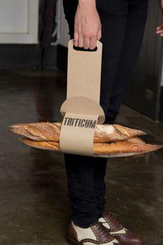 Actualité / Ça sent le pain !!! / étapes: design & culture visuelle Bread Packaging, Bakery Packaging, Food Packaging Design, Packaging Design Inspiration, Packaging Ideas, Bakery Design, Food Design, Web Design, Design Logo