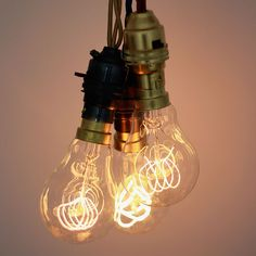 Vintage Style Light Bulbs by Nook | MONOQI #bestofdesign