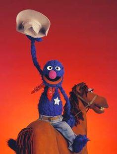 Marshall Grover Sesame Street Muppets, Sesame Street Characters, Elmo, Country Line Dancing, Art Jokes, Fraggle Rock, The Muppet Show, Muppet Babies, Jim Henson
