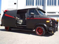 A-Team van A Team Van, The A Team, Chevy, Jazz, Crime, Survival, The Unit, Military, Movie