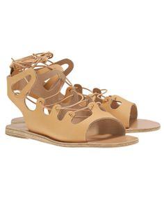 Ancient Greek / Antigone Flat Sandal