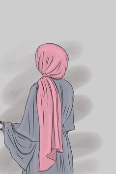 Cartoon Girl Images, Cartoon Art Styles, Girl Cartoon, Vector Character, Hijab Drawing, Islamic Cartoon, Anime Muslim, Hijab Cartoon, Girly Drawings