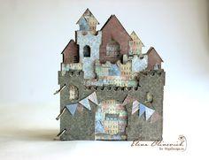 Elena Olinevich: Castle Mini Album - Maja Design