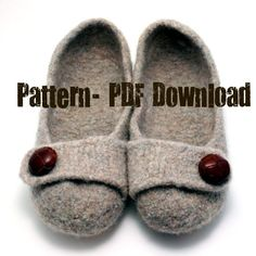 need to knit. craft, knitting patterns, felt slipper, knit slippers, felted slippers, ballet flats, yarn, shoe, knitted slippers