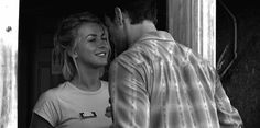 4. The way you smile after he kisses you.