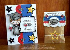 Cards by Patty Tanúz: BLOG HOP DILO EN ESPAÑOL: LANZAMIENTO DE SELLITOS!!!! Teachers Day Gifts, Diy And Crafts, Arts And Crafts, Ideas Para Fiestas, Teachers' Day, Special Day, Congratulations, Art Projects, Scrapbook