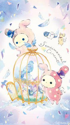 リラックマ壁紙sp Sanrio Wallpaper, Hello Kitty Wallpaper, Kawaii Wallpaper, Wallpaper Iphone Cute, Cute Food Drawings, Cute Animal Drawings Kawaii, Kawaii Drawings, Sentimental Circus, Hello Kitty Art