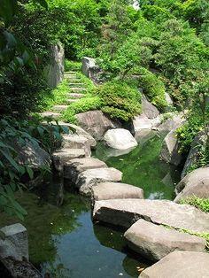 目白庭園 (Mejiro Garden)